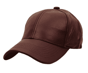 NYFASHION101 Unisex Adjustable Genuine Leather Baseball Cap Hat, Made in USA