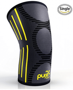 PURE SUPPORT Knee Brace Sleeve with Best Patella