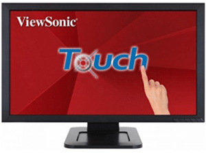 "ViewSonic TD2421 24"" 1080p Dual-Point Optical Touch Screen Monitor HDMI, DVI"