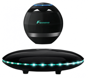 Levitating Speaker, Foxnovo Floating Speaker with Bluetooth 4.0