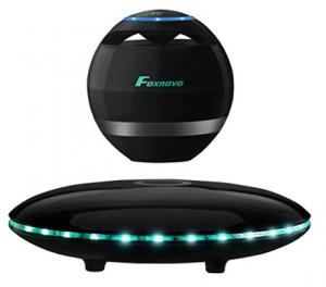 Levitating Speaker, Foxnovo Floating Speaker with Bluetooth 4.0