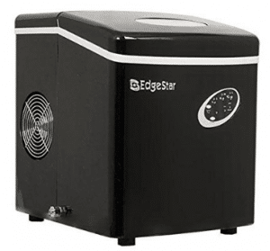 EdgeStar IP210BL Portable Countertop Ice Maker - Black