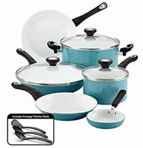 Farberware Purecook Ceramic Nonstick Cookware 12 Piece Cookware Set