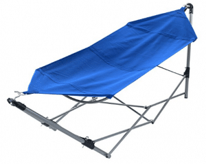 Portable Hammock with Stand-Folds
