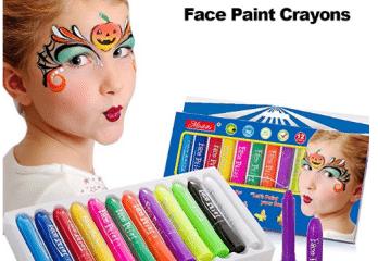 MiniKIKI Face Paint Crayons, Face Painting Kits