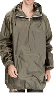 4ucycling Raincoat Easy Carry Rain Coat Jacket Poncho in a Pouch Outdoor