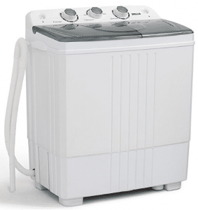 DELLA Small Compact Portable Washing Machine 11lbs Capacity with Spin Dryer
