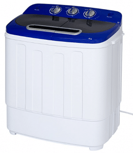 Best Choice Products Portable Compact Mini Twin Tub Washing Machine