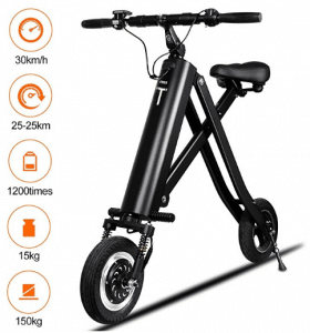 BuySevenSide Urban E-Bike And Folding Electric Scooter The Newest Foldable Bicycle Model With 15-18 MPH