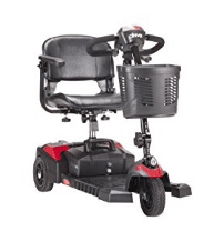Drive Medical Scout Compact Travel Power Scooter, 3 Wheel