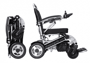 Foldawheel PW-1000XL Power Chair (2 years global warranty) weighs just 57 lbs with battery