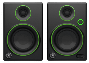 "Mackie CR3 CR Series 3"" Creative Reference Multimedia Monitors (Pair), Black, 3"""