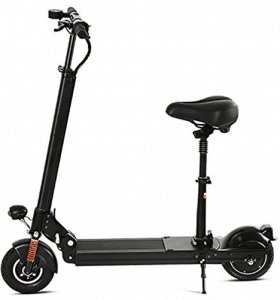 Asatr Swagger Foldable Electric Scooter with Retractable Seat