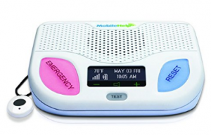 MobileHelp Classic - Remotely Activated Cellular Home Medical Alert System for Seniors