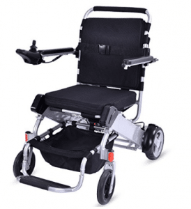 Giantex Lightweight 55 lbs only Heavy Duty Supports 330 lbs Aluminum Foldable Wheelchair Electric Power Propelled Portable