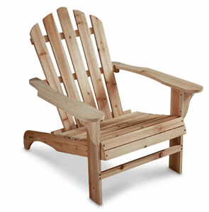 CASTLECREEK Oversized Adirondack Chair, 400-lb. Capacity