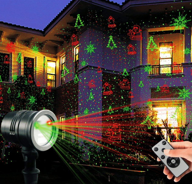 Laser Magic Christmas Lights