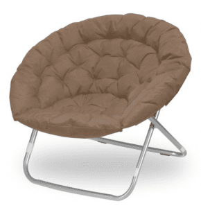 Oversized Folding Moon Chair, Best Papasan Chairs with Cushion