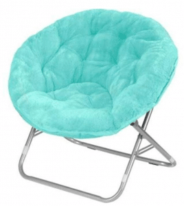 Mainstay WK656338 Saucer Chair - Papasan Chairs with Cushions