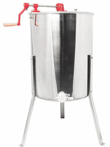 VIVO Four 4 to Eight 8 Frame Stainless Steel Bee Honey Extractor