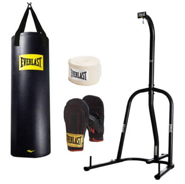 Everlast Station Heavy Bag Stand and 100lb Heavy Bag Kit