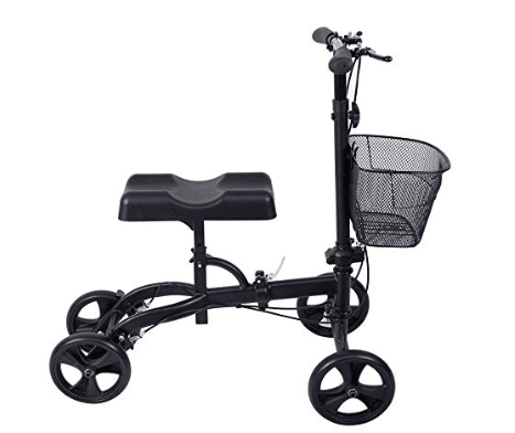 Steerable Knee Walker Deluxe Medical Scooter for Foot