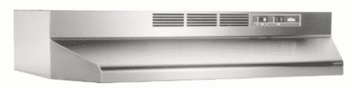 Broan 413604 ADA Capable Non-Ducted Under-Cabinet Range Hood