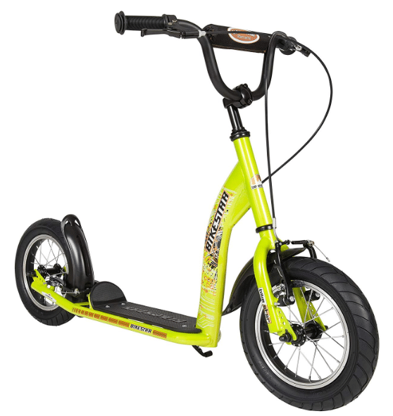 BIKESTAR® Original Safety Pro Sport Push Kick Scooter