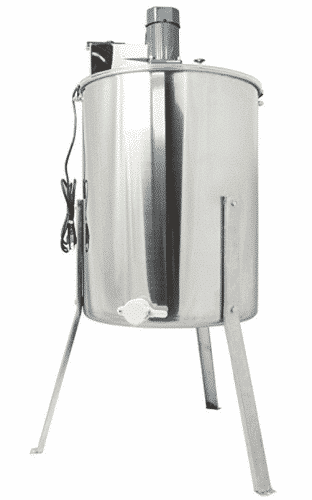 VIVO New Electric Four 4 Frame Stainless Steel Honey Extractor
