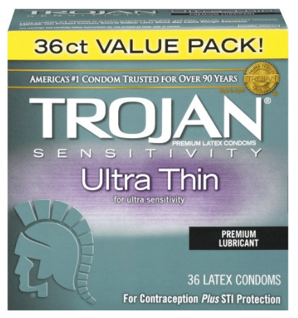 Trojan Ultra Thin Latex Condoms