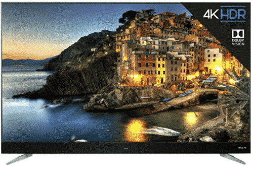 TCL 65C807 65-Inch 4K Ultra HD Roku Smart LED TV