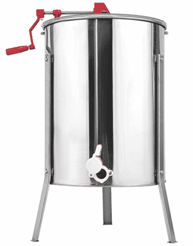 Goplus Stainless Steel Large 4/8 Frame Honey Extractor