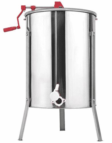 Goplus Stainless Steel Large 4/8 Frame Honey Extractor
