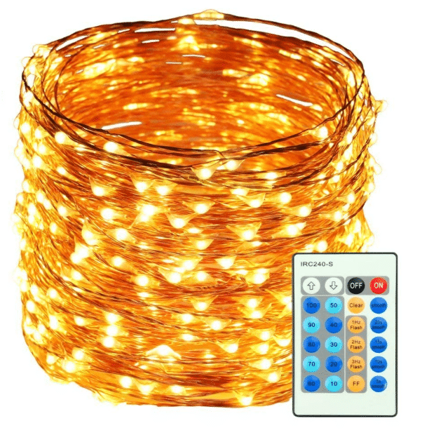 HaMi 66ft 200 LED String Lights