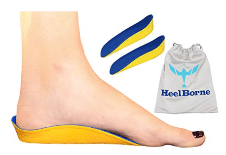 The FullBorne by Heelborne Ergonomic Height Increasing Insole