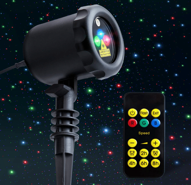 MYCARBON Outdoor Laser Light Projector