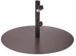 Abba Patio Round Steel 28 inch Diameter Market Patio Umbrella Base