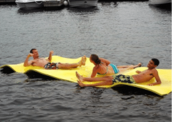Wateraft Giant The World's Best Water Toy & Raft, Yellow