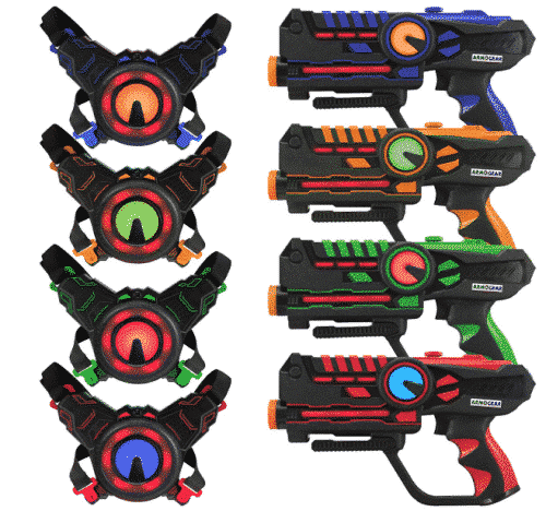 ArmoGear Infrared Laser Tag Guns and Vests