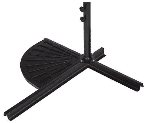Trademark Innovations Resin Umbrella Base Weight for Offset Umbrella