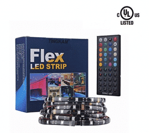 Tingkam® 16.4 ft 5M Waterproof 5050 SMD RGB LED Flexible Strip Ligh