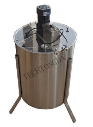 Electric 4 Frame 304 Stainless Steel Honey Extractor With Stand Beekeeping