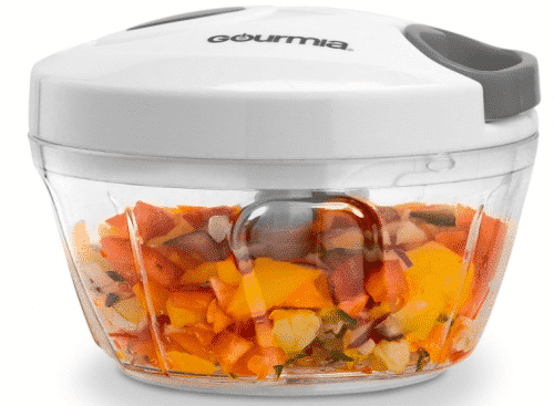 Gourmia GMS9280 Mini Slicer Pull String Manual Food Processor