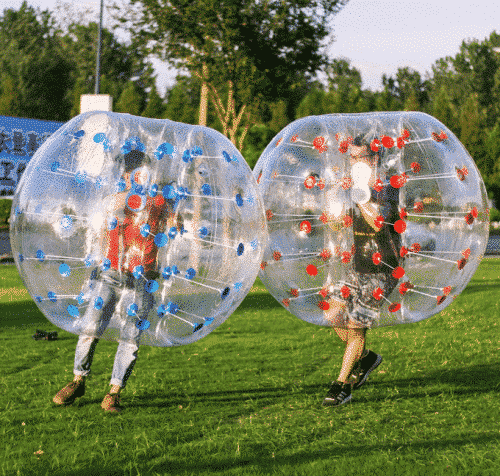 Popsport 4FT/5FT Inflatable Bumper Ball Bubble Soccer Ball