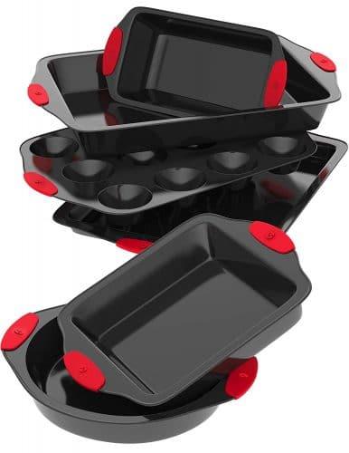 Vremi 6 Piece Nonstick Bakeware Set