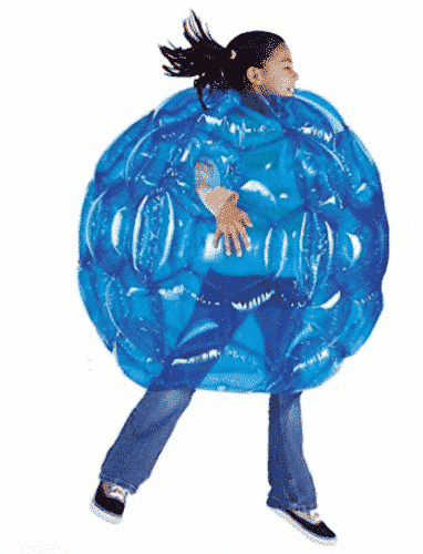 HearthSong® Blue BBOP Buddy Bumper Ball