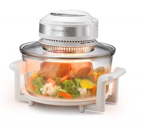 Rosewill RHCO-16001 Infrared Halogen Convection Technology Digital Oven
