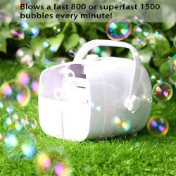 Portable Bubble Machine