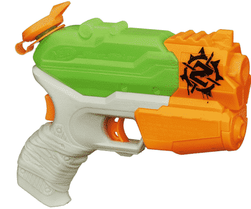 SUPERSOAKER Nerf Zombie Strike Extinguisher Blaster Water Soaking Guns