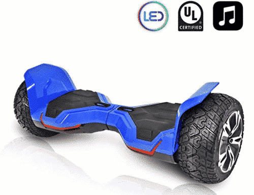 CHO All Terrain Hoverboard Off-Road Smart Self-Balancing Dual Motors Electric Scooter